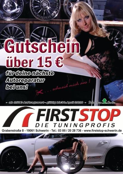 Firststop Flyer Februar 2010
